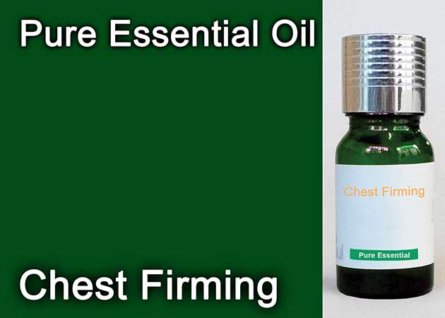 chest firming essential oil