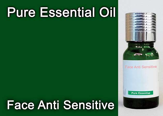 face anti sensitive essential oil