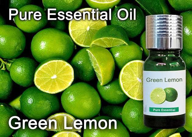 green lemon essential oil