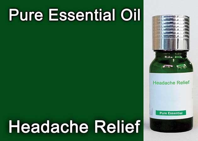 headache relief essential oil
