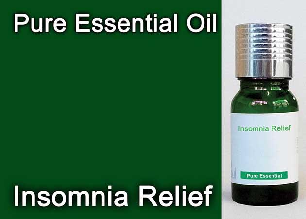 insomnia relief essential oil
