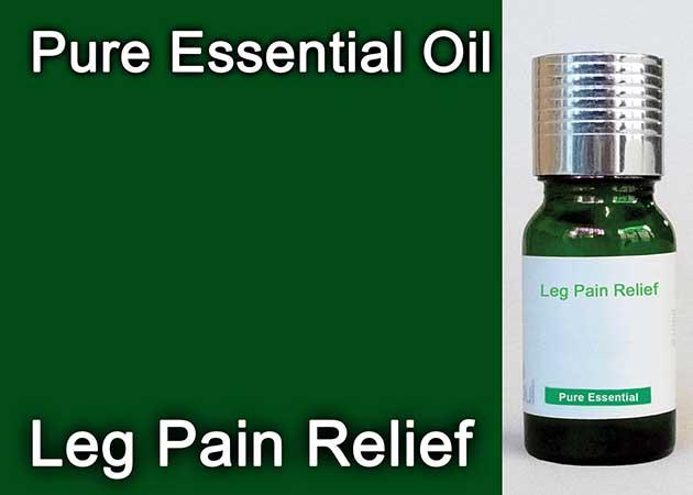 leg pain relief essential oil