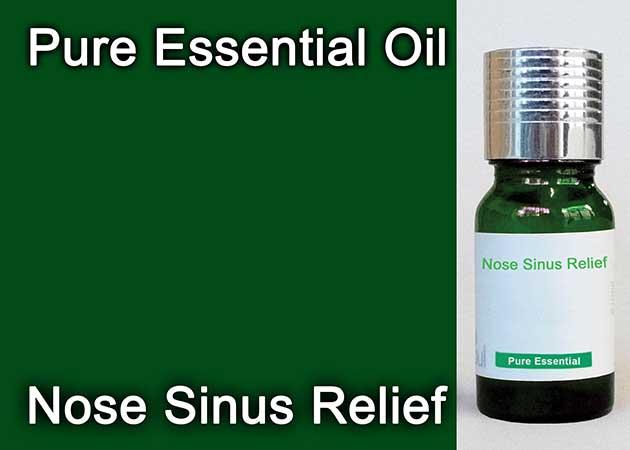 nose sinus relief essential oil