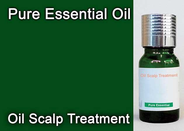 oil scalp treatment essential oil