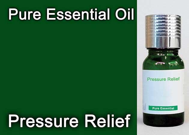 pressure relief essential oil